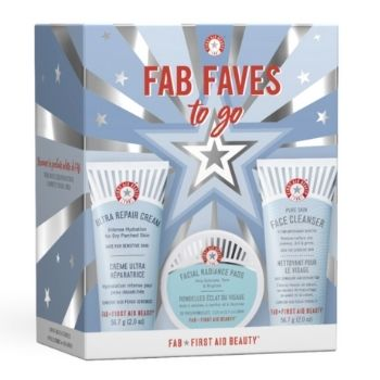 First Aid Beauty Faves To Go Vegan Skincare Kit