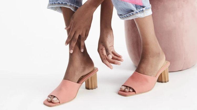 Mesa vegan heels
