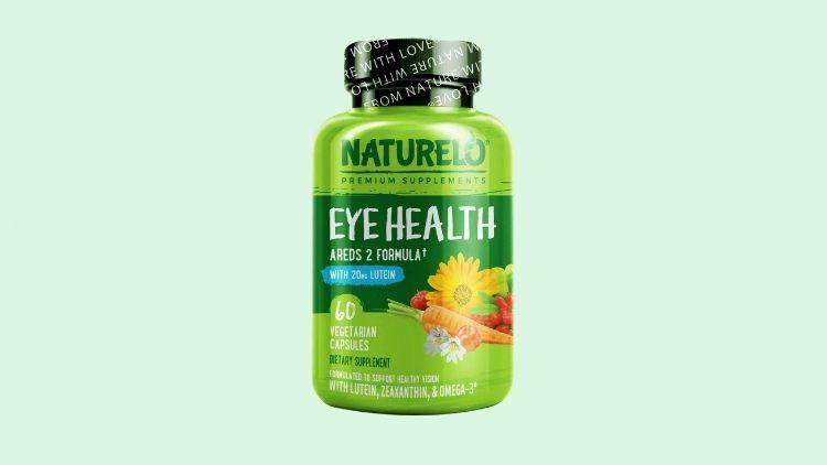 Best Vegan Multivitamin For Eyes is Naturelo Eye Vitamin