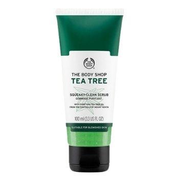 The Body Shop Tea Tree Vegan Face Scrub