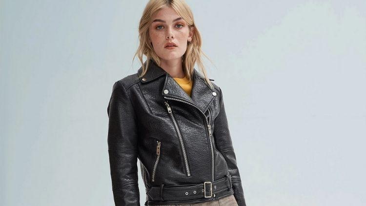 Vegan leather jackets Noize