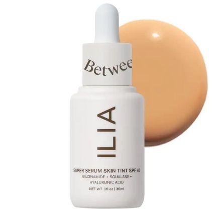 Ilia Super Serum Skin Tint SPF 40 Vegan Foundation