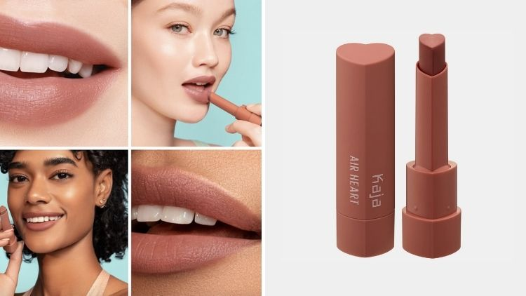 Nude Vegan Lipstick Kaja Air Heart