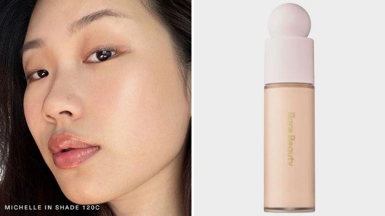 Vegan Foundation For Asian Skin Rare Beauty Liquid Touch