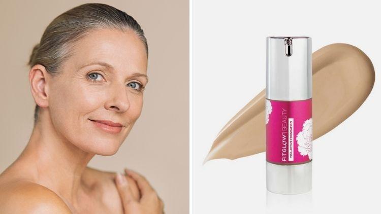Vegan Foundation For Mature Skin Fitglow Vita Active