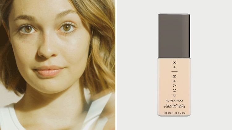 Vegan Foundation For Normal Skin Cover FX Power Play