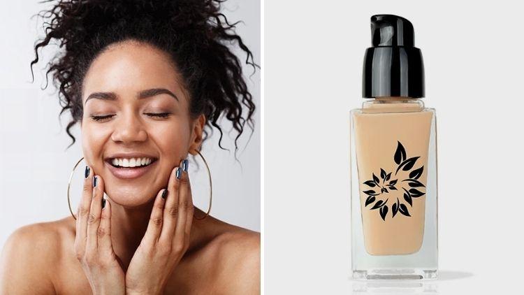 Vegan Foundation For Sensitive Skin BaeBlu Organic Lux