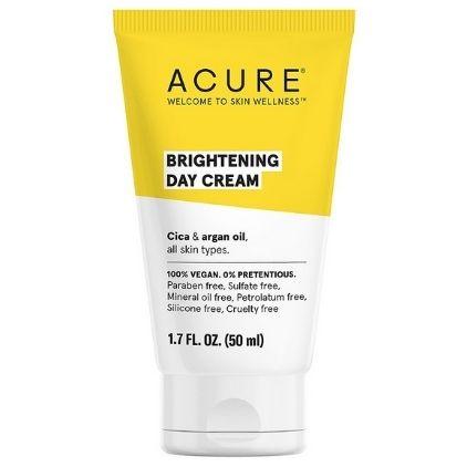 ACURE Brightening Day Cream Vegan Moisturizer For Dark Spots