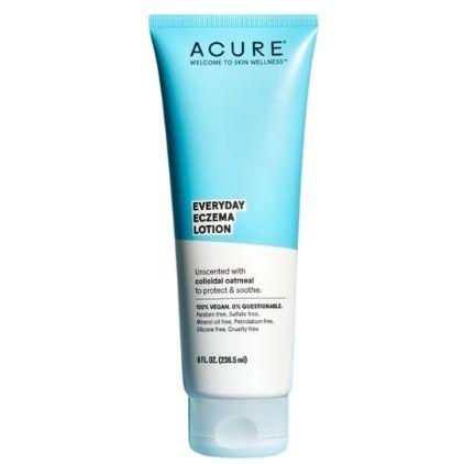 Acure Everyday Eczema Lotion Vegan Moisturizer For Eczema