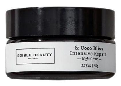 Edible Beauty Coco Bliss Intensive Repair Vegan Moisturizer For Scars