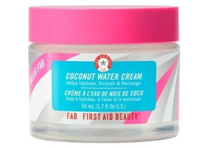 First Aid Beauty Hello FAB Coconut Water Cream Vegan Moisturizer For Oily Skin