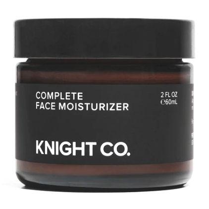 Knight Co. Complete Face Moisturizer Vegan Moisturizer For Men