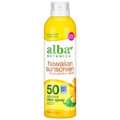 Alba Botanica Hawaiian Sunscreen SPF 50 Affordable Vegan Sunscreen