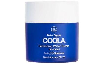 Coola Refreshing Water Cream SPF 50 Vegan Sunscreen For Face