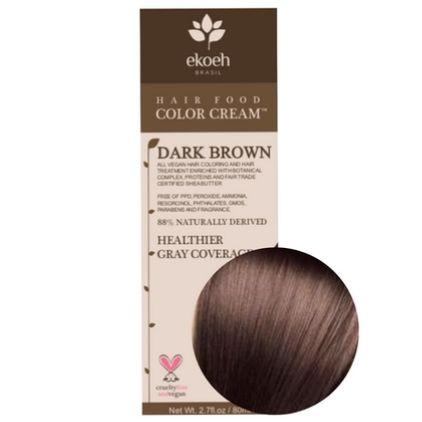 Ekoeh Brazil Hair Food Color Cream Vegan Hair Dye For Men
