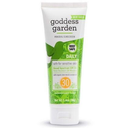 Goddess Garden Daily Sunscreen SPF 30 Vegan Sunscreen For Sensitive Skin