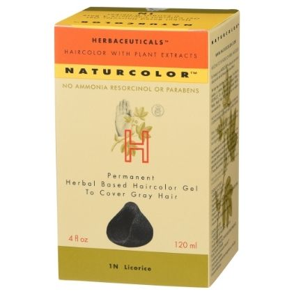 Herbaceuticals Naturcolor Vegan Hair Dye For Dark Hair