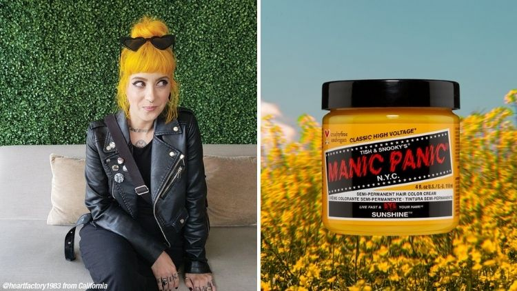 Manic Panic Vegan Hair Dye