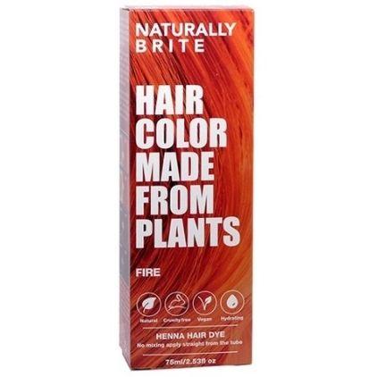 Naturally Brite Vegan Henna Hair Dye