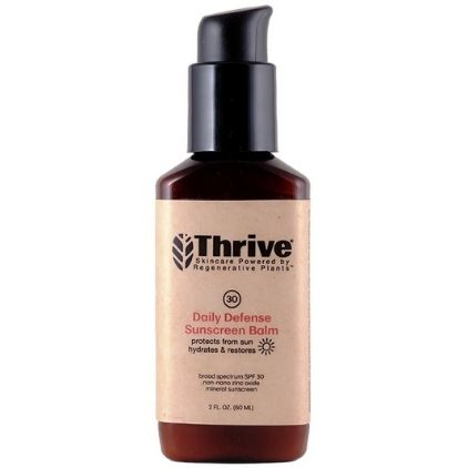 Thrive Daily Defense Sunscreen Balm SPF 30 Mineral Vegan Sunscreen